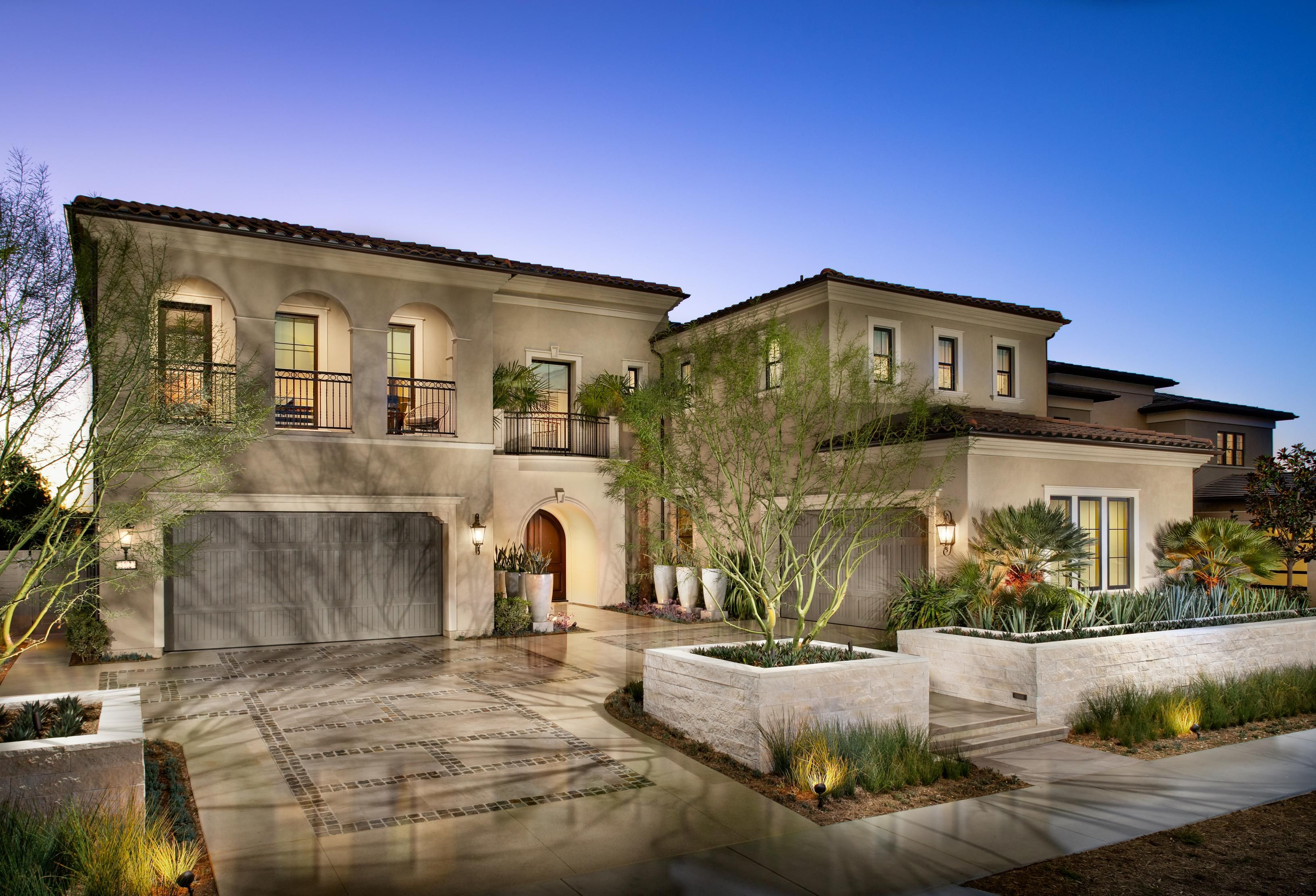 Starting With Is Marvelous Exterior The Castella Model Home From