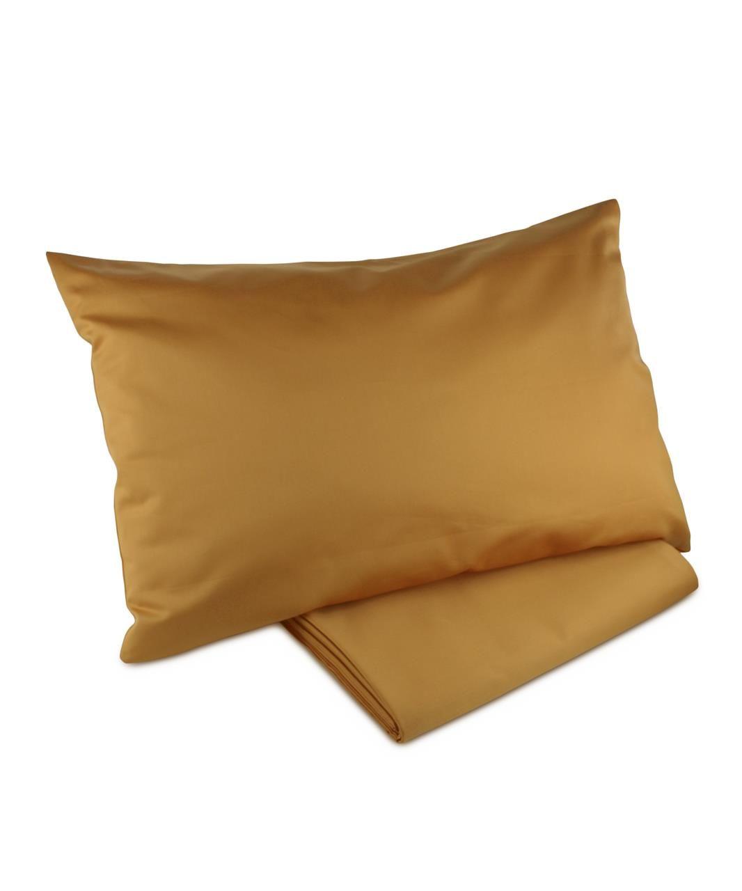 e6068e22097 Finest Sateen Saffron Gold organic cotton bedding