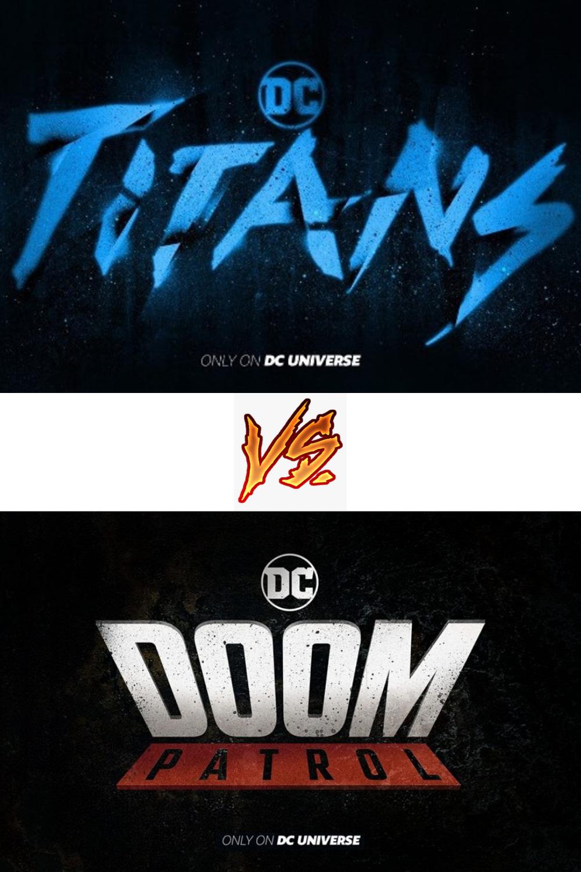 Titans Vs Doom Patrol Doom Patrol Doom Tv Episodes