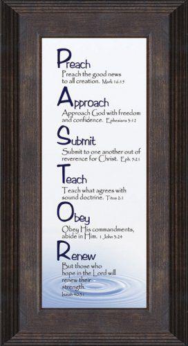 Amazon.com: Pastor Inspiration Saying based on Christian ...