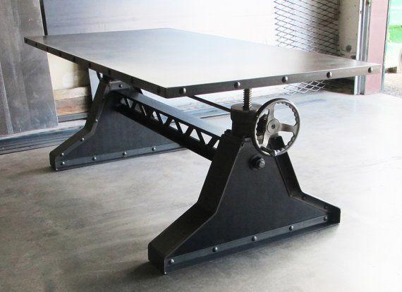 Vintage Industrial Steel Amp Rivets Design Adjustable
