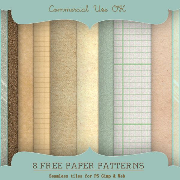 New Free Paper Patterns For Photoshop Gimp And Web Starsunflower Studio