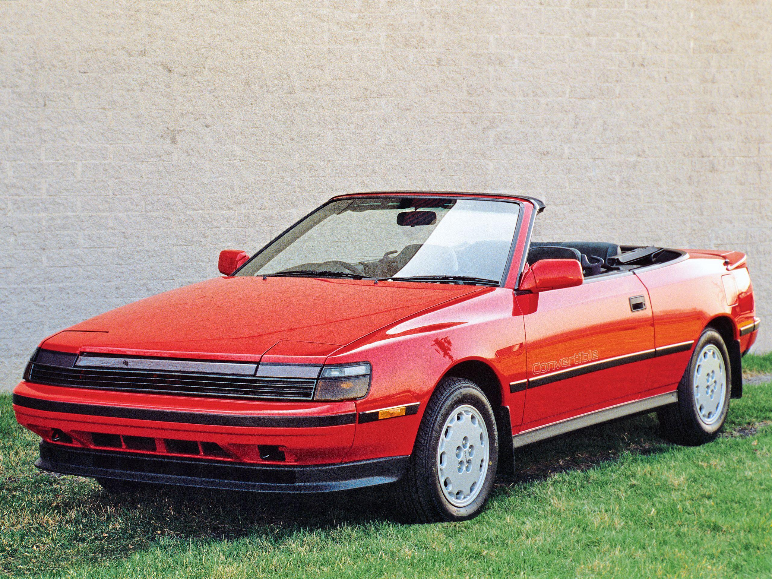 1988 Toyota Celica 2 0 Gti Cabrio St162