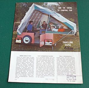 A Must Have For Any Backyard The 1965 Travelling Teepee Pop Up