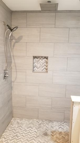Daltile Nova Falls Gray 12 In X 24 In Porcelain Floor And Wall