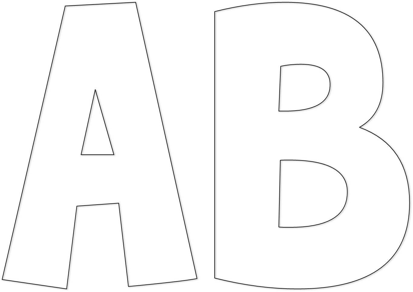 moldes de letras - Buscar con Google | Letras | Pinterest | Ems