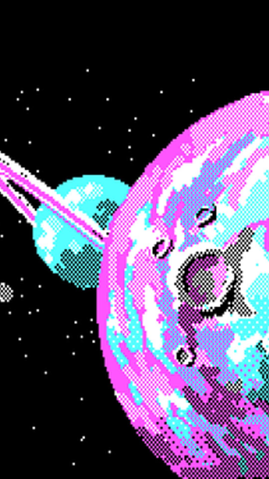 Pixel Art Wallpaper Tumblr Space Art Wallpaper Pixel Art
