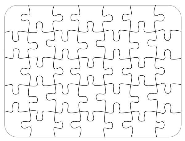 Bare Blank Puzzle 35 Piece 1 50 Rainbow Resource Room