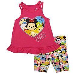Disney Baby Tsum Tsum Toddler Girls' Tank Top & Shorts