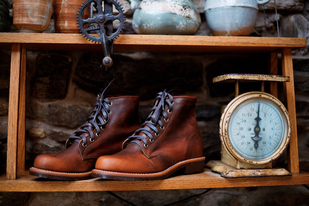 Hand crafted in USA, the Chippewa Service boots are beautiful enough to wear with a suit and rugged enough for the trail.