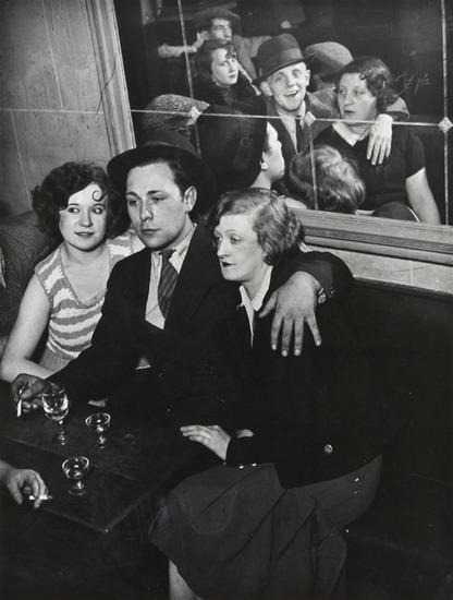 Brassai, Cafe Paris, c. 1920s
