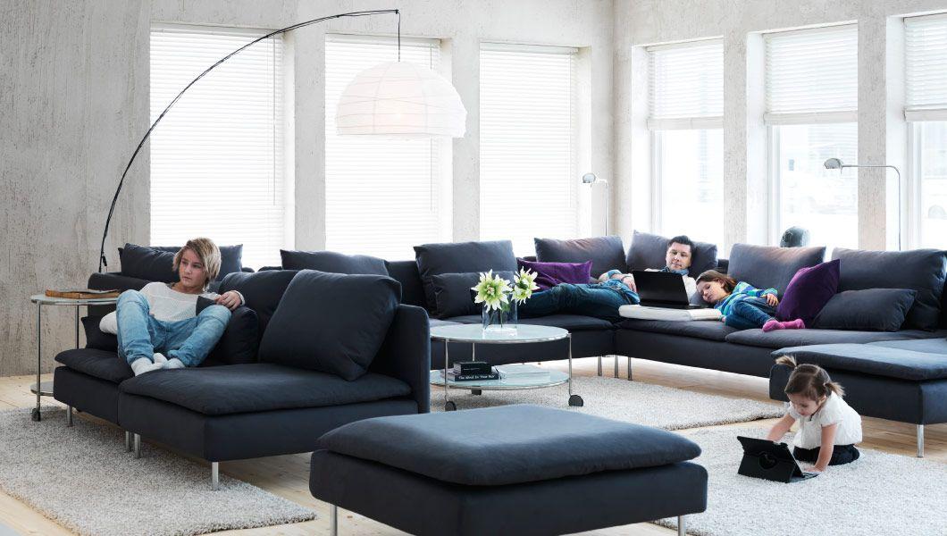 Jassa Poltrona Preto Rota Ikea Living Roomliving