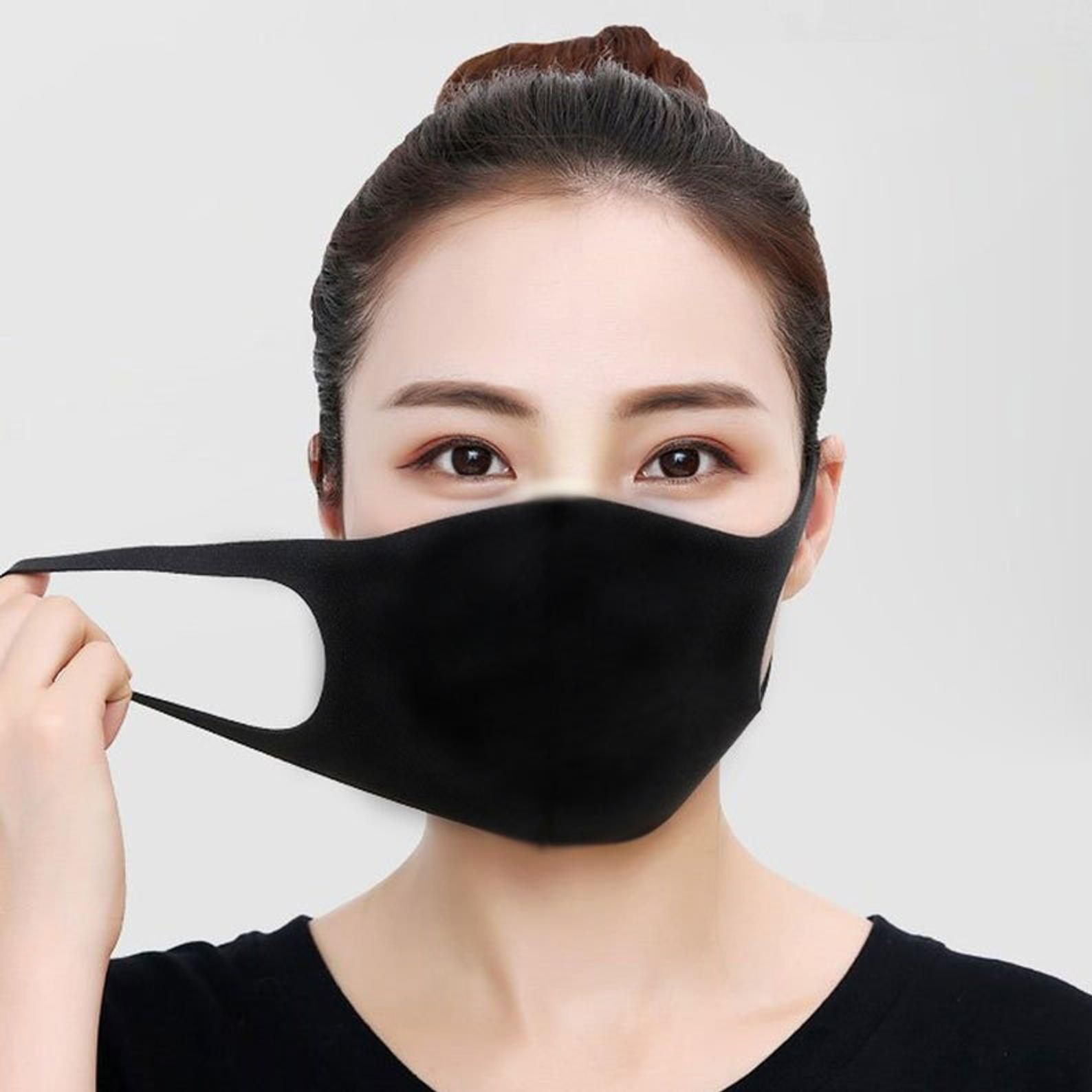 No Sew Face Mask Pattern, DIY EASY Downloadable, 3 Sizes
