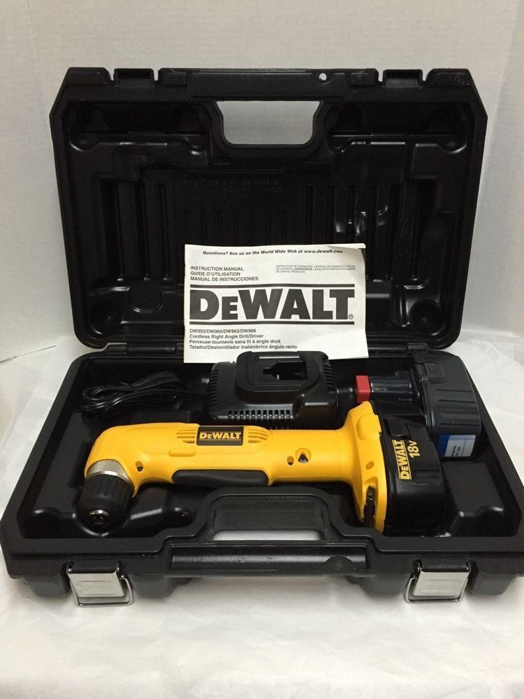 DEWALT DW960 18V ANGLED DRILL DRIVERS FOR MAC DOWNLOAD
