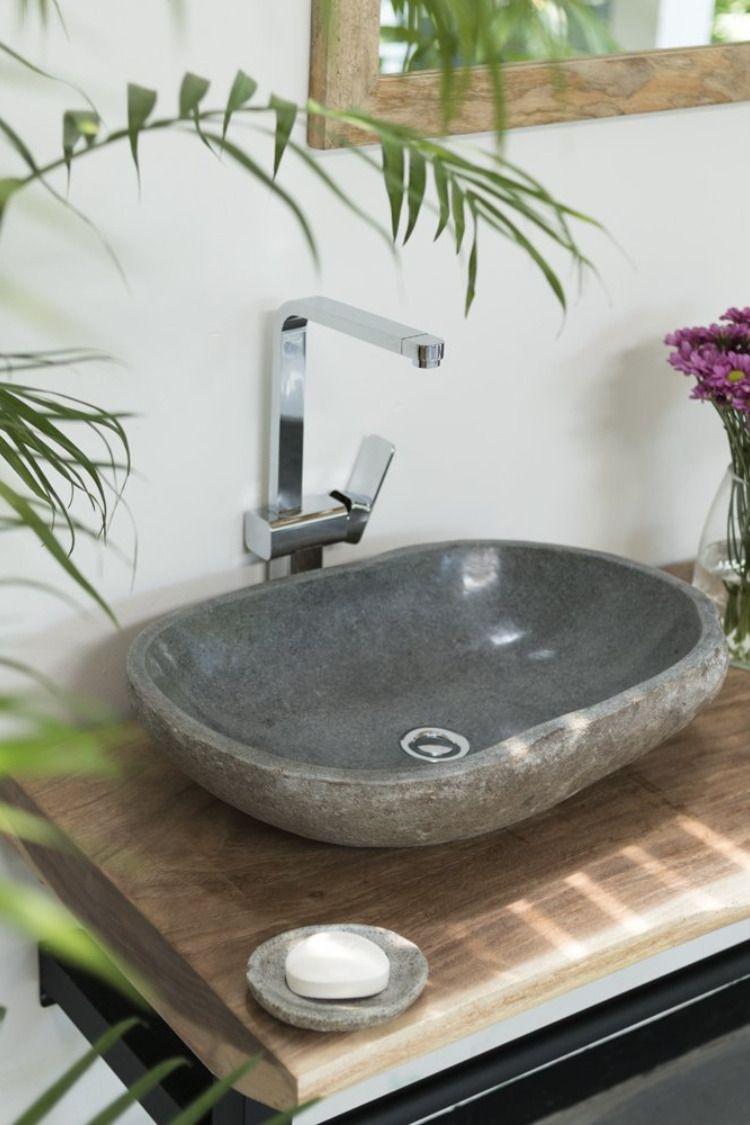 Naturstein Aufsatzwaschbecken In 2020 Mit Bildern Naturstein Waschbecken Waschbecken Aufsatzwaschbecken