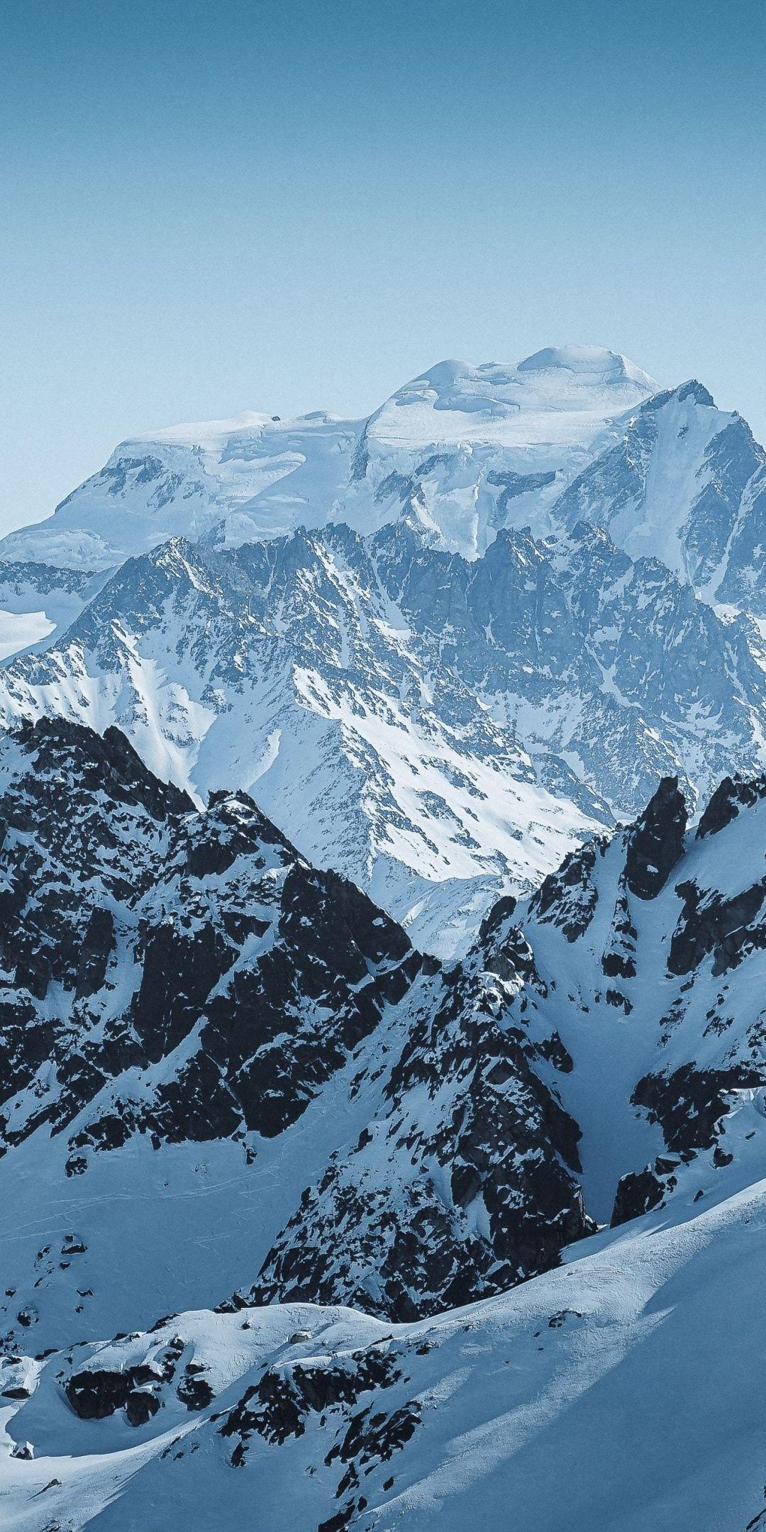 Grand Combin Mountains Swiss Wallpaper En 2020 Avec Images Montagnes Peinture Combine