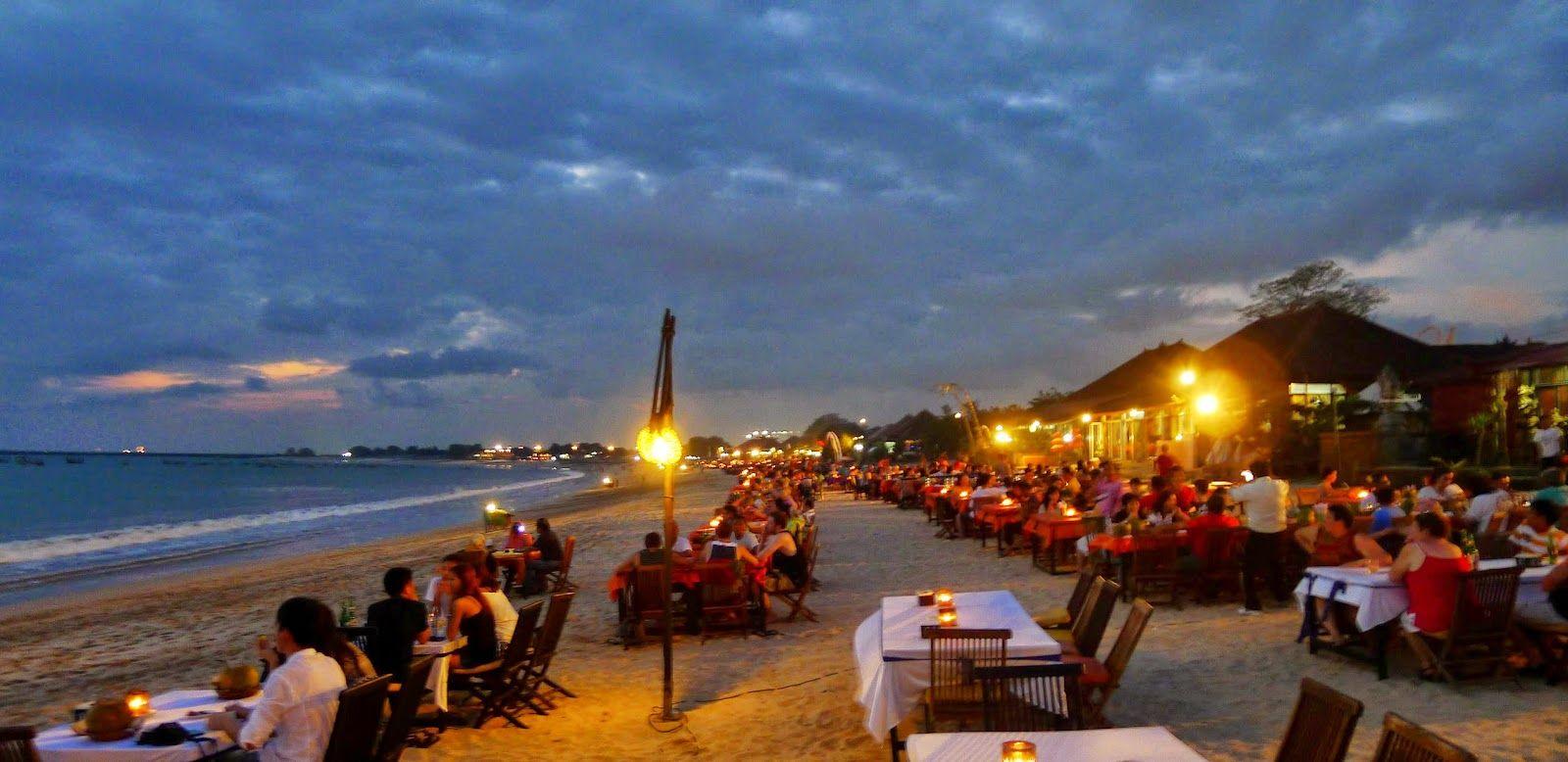Pantai Jimbaran 10 Objek Wisata Di Bali Terkenal Di Dunia