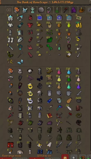 My All Time Dream Of 1b Bank Has Been Achieved 2007scape All About Time Old School Runescape Achievement