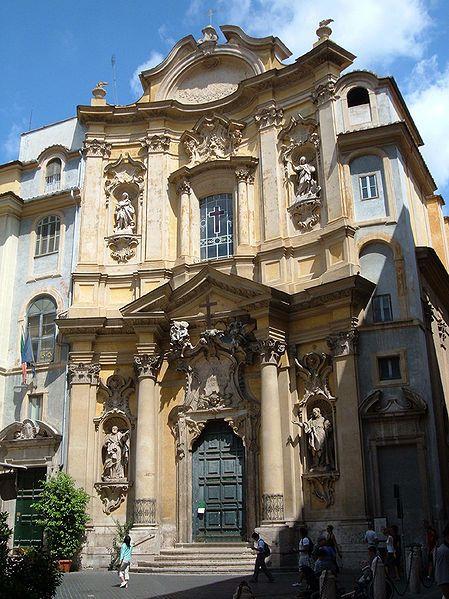 Roma - Santa Maria Maddalena - 1735