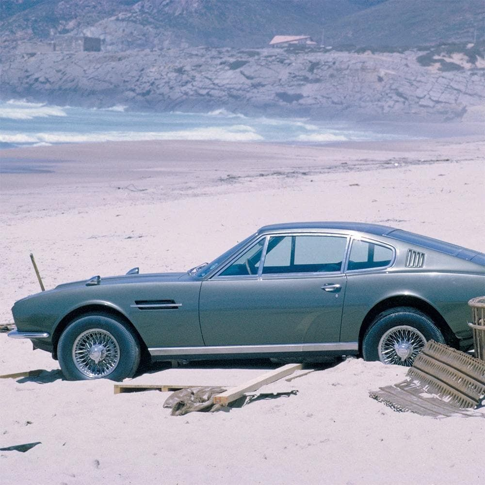 James Bond Aston Martin DBS Model Car - On Her Majesty's Secret Service - By Corgi