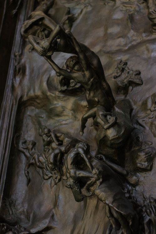 gates of hell / rodin museum in philadelphia / reality and retrospect