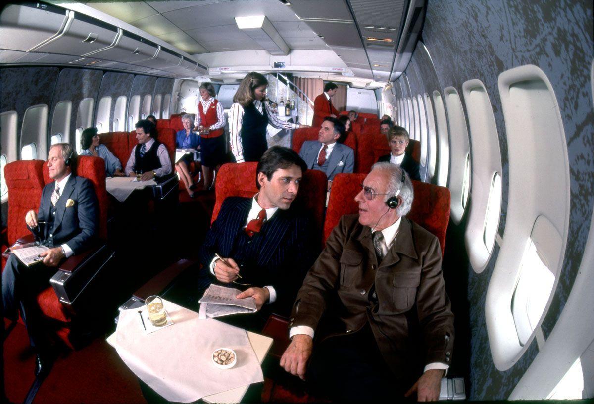 Air Canada First Class 747