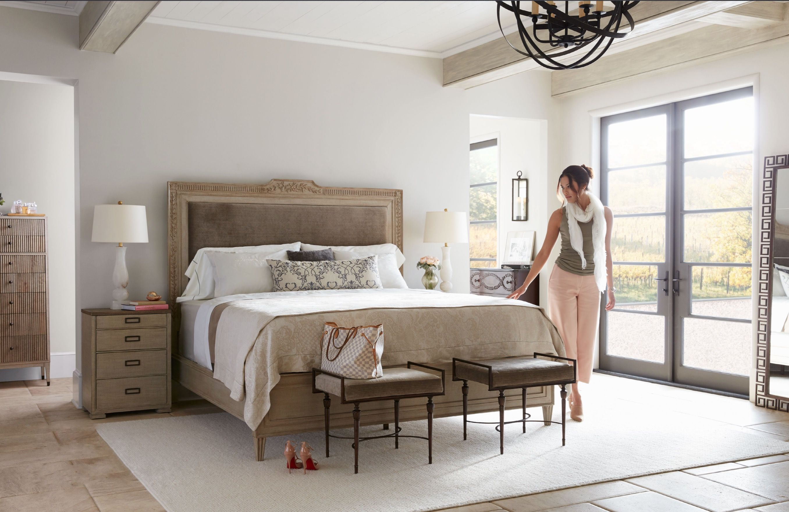 Master Bedroom   Home Decor   Stanley Furniture   Villa Couture    Transitional Style