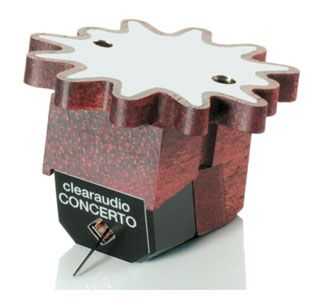 All the design aspects of Clearaudio's acclaimed Goldfinger, Titanium, and Stradivari cartridges are found in the Concerto V2. It's the entry-level into Clearaudio's New Generation 'super class' of moving coil cartridges. Both the satiné wood from which the body is made and its resonance-optimized shape contribute towards the excellent performance of the Concerto V2. It's the baby of the Clearaudio flagship range with a grown up sound you'll love.
