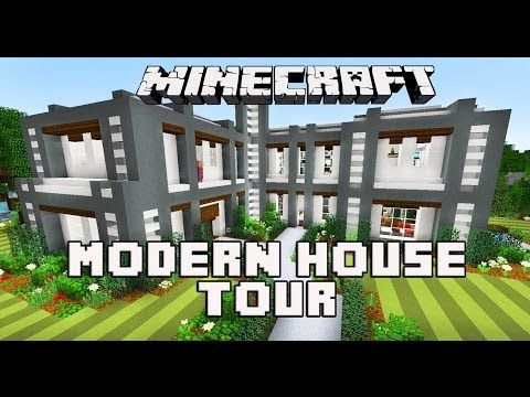 Minecraft Tutorial How To Build A Modern House Ep1 Layout And