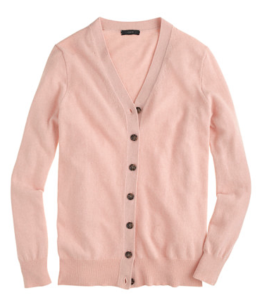 blush v-neck cardigan http://rstyle.me/~2FXMc