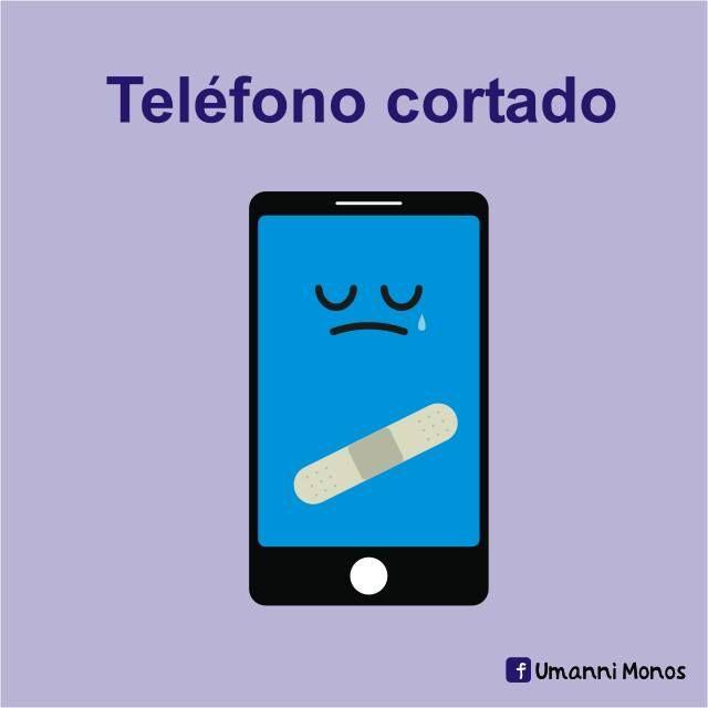 Teléfono cortado