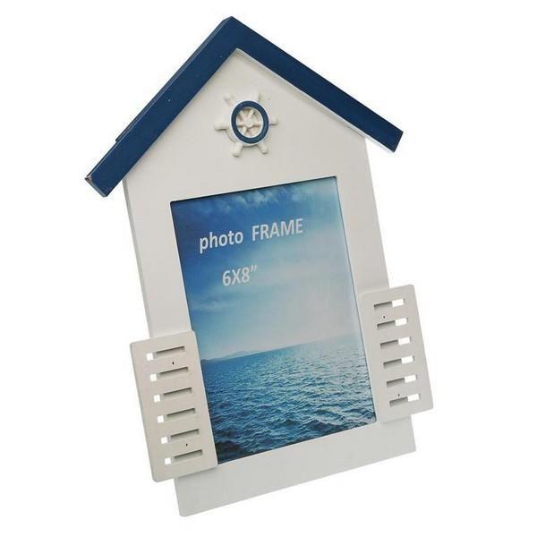 Blue Sea Wood MDF photo frame – 13 x 18 cm