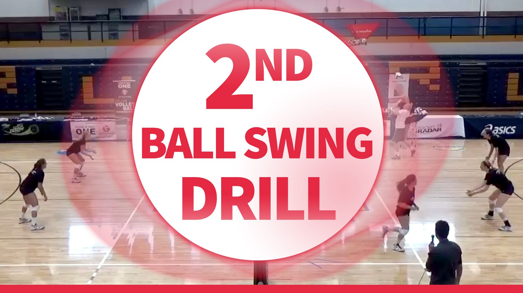 Second Ball Swing Drill Coaching Volleyball Volleyball Conditioning Volleyball Practice