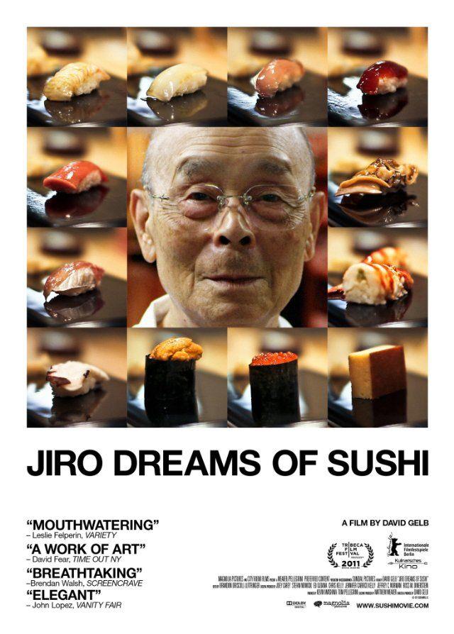 Jiro Dreams Of Sushi 映画 ポスター 寿司 鮨