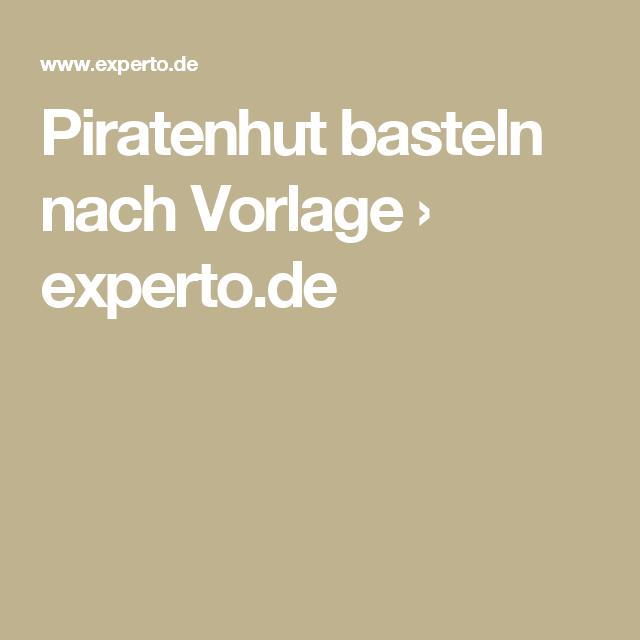 Schön Piratenhut Schnittmuster Fotos - Schal-Strickende Muster-Ideen ...