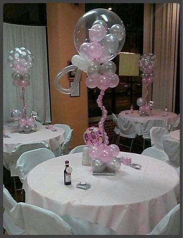 Good Ideas Para Tu Fiesta: Centros De Mesa Para Baby Shower