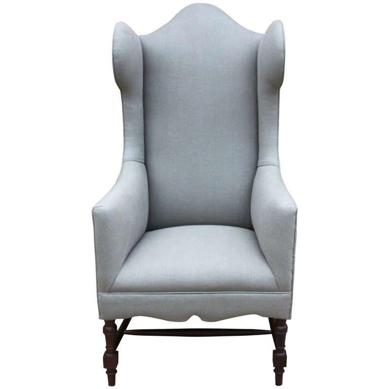 edwardian wing armchair