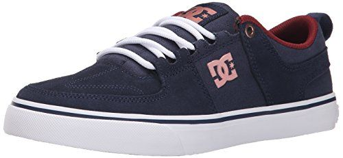 DC Womens Lynx Vulc Lace Up Skate Shoe NavyGold 10 M US ** Click image for more details.