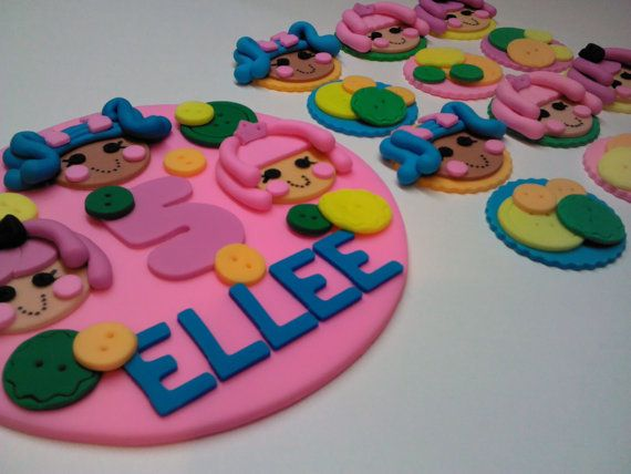Inspired by the Lalaloopsy Cups & Cake by ThreeMonkeysCakery, $35.00