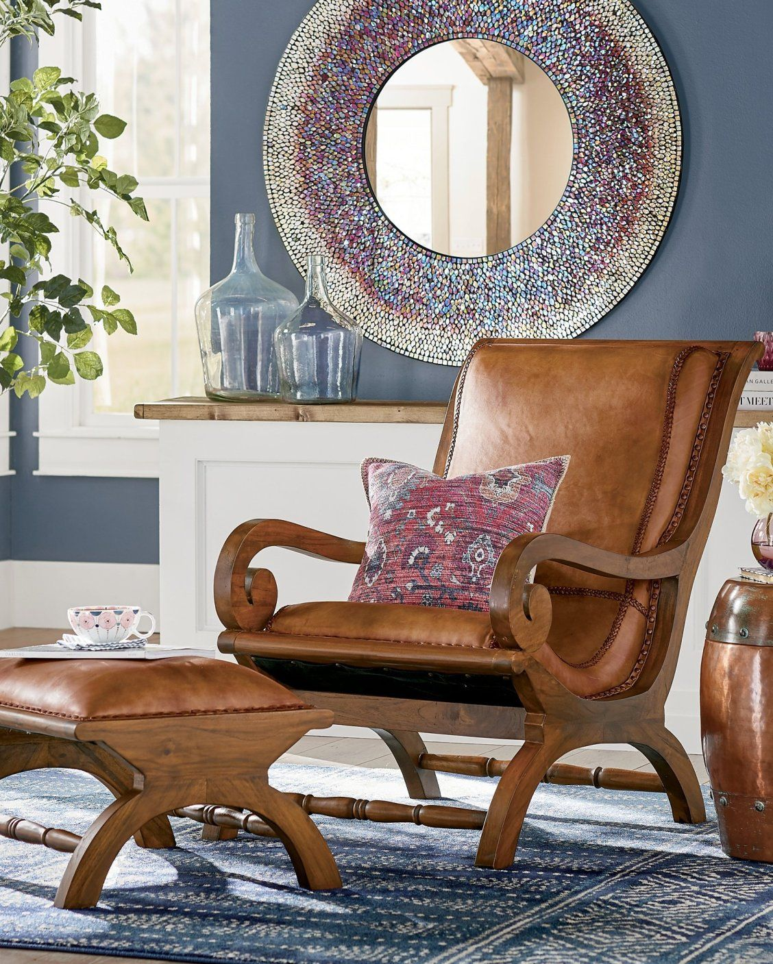 Pin On Colorful Living Rooms