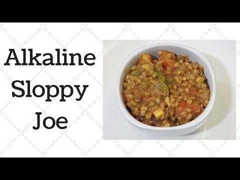 Alkaline Electric Sloppy Joe Alkaline Diet Recipes Dr Sebi