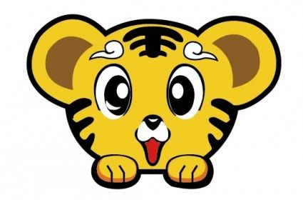 cartoon tiger faces - Google Search   Cartoon tiger ...