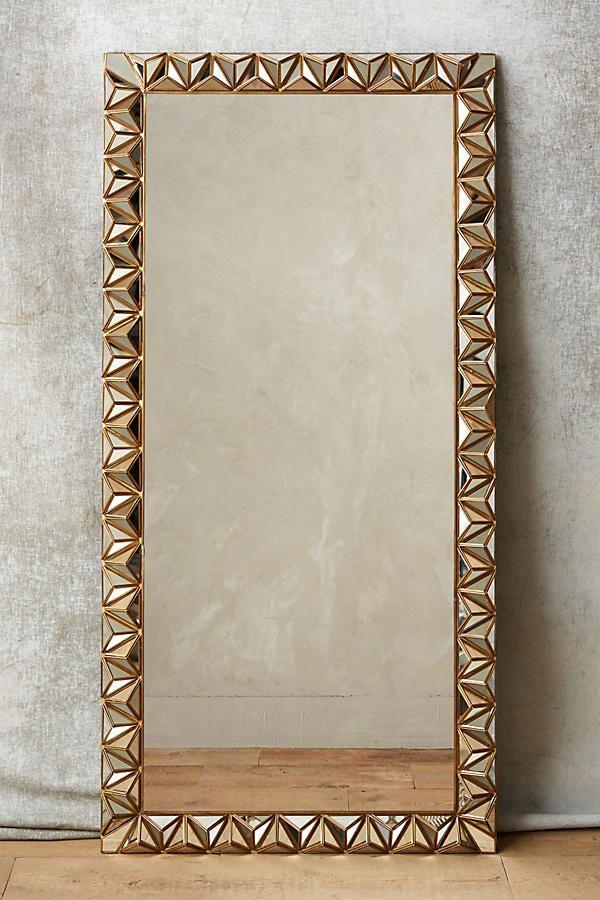 Studded Pyramid Mirror | Bath remodel, Mirror mirror and Bath