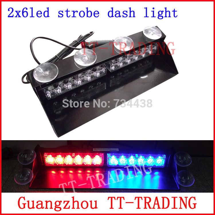 Strobe Lights For Cars Cool 12 Led Police Strobe Lights Vehicle Strobe Light Car Dash Board Led Inspiration