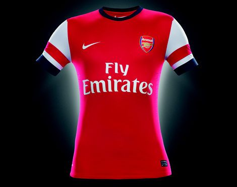 separation shoes ef527 dadd3 ARSENAL HOME SHIRT - 2012 / 2013 | Soccer | New football ...