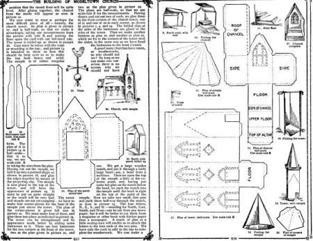 Free church paper model template images about paper house free church paper model template images about paper house templates on pinterest putz houses paper maxwellsz
