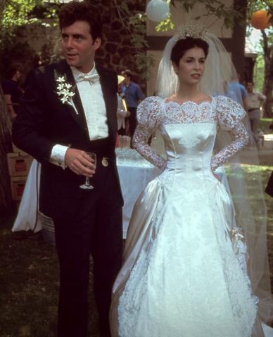 Constanzia Connie Corleone Carlo Rizzi Father Wedding
