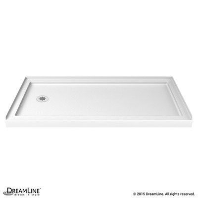 Dreamline Slimline 36 By 60 Single Threshold Shower Base Center