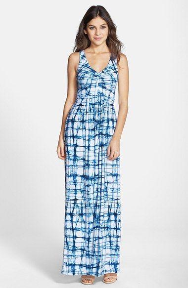 475ce03ec Tart 'Tonia' Shirred Jersey Maxi Dress available at #Nordstrom ...