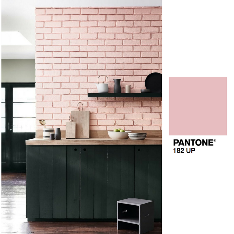 The spring paint trends we 39 re loving pale pink matte for Matte black kitchen doors